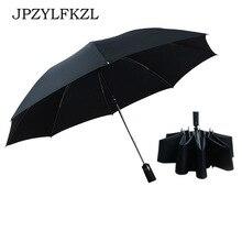 Hot Sale Wind Resistant Reverse Folding Automatic Umbrella Rain Women Auto Luxury Big Windproof Umbrellas For Men Parasol