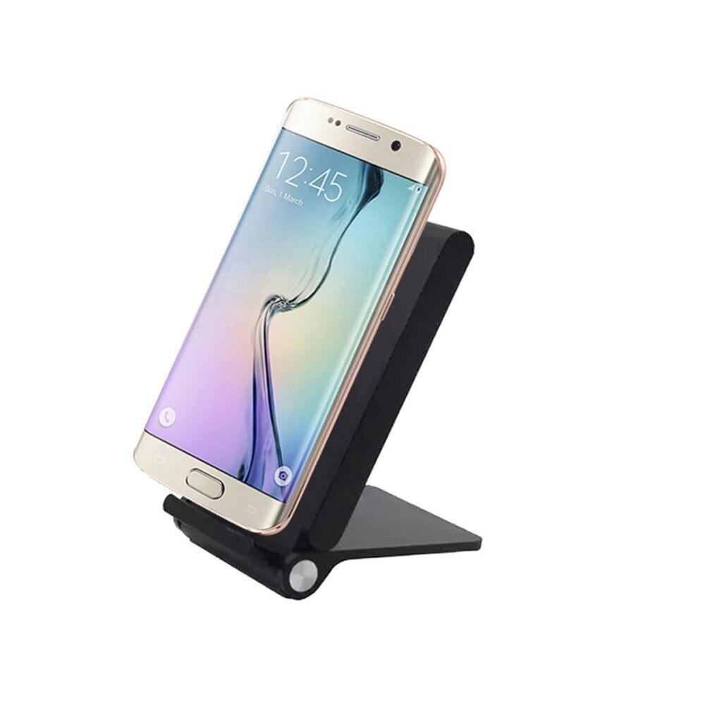 Samsung S10 + S9 S8 Plus S7 S6 Kənar Qeyd 5 8 Üçün Üç Qapaq Qi - Cib telefonu aksesuarları və hissələri - Fotoqrafiya 2