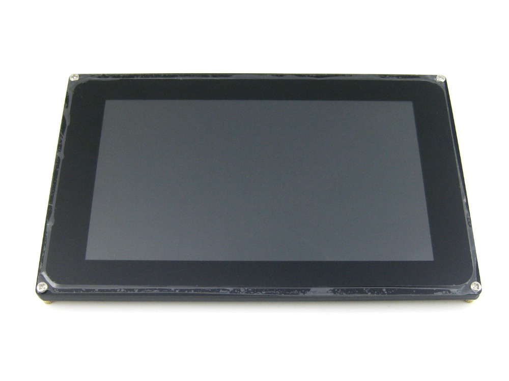 Parts 7inch Capacitive Touch LCD (D) Display 1024 * 600 Resolution TFT Screen Module RGB and LVDS Interface FT5206GE1 Controller module waveshare 7inch 1024 600 tft capacitive display multicolor graphic lcd with capacitive touch screen stand alone touch con