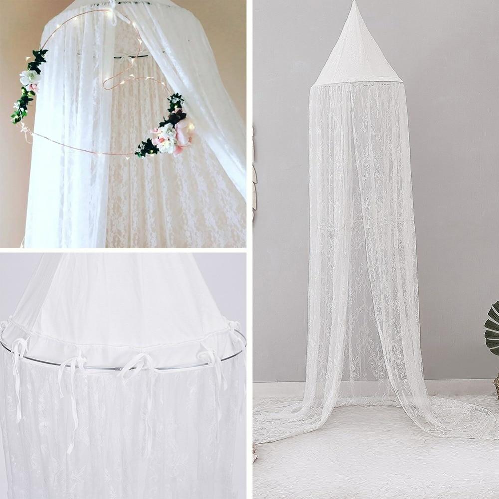 1 PC bébé baldaquin moustiquaire Anti moustique enfant lit rideau filles chambre décoration lit baldaquin antiparasitaire rejeter Net lit couverture