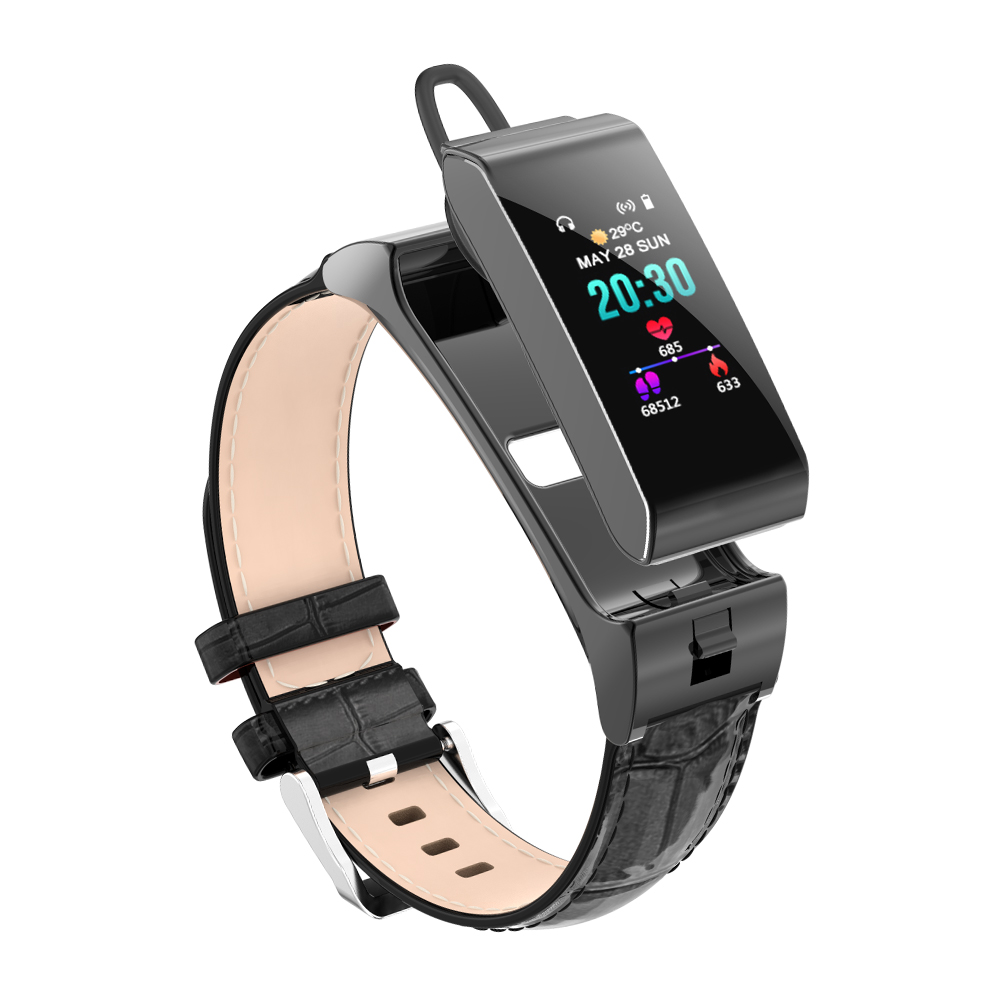 Smart Watch Bluetooth Earphone Headset Heart Rate Blood Pressure Fitness Bracelet Multiple SportS Activity monitoring WristbandSmart Watch Bluetooth Earphone Headset Heart Rate Blood Pressure Fitness Bracelet Multiple SportS Activity monitoring Wristband