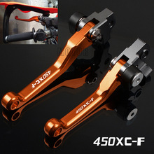 For KTM 450XC-F 2008-2009 2013-2018 450 XC-F XCF XC F CNC Aluminum Motorcycle Dirt Pit Bike Motocross Pivot Brake Clutch Levers