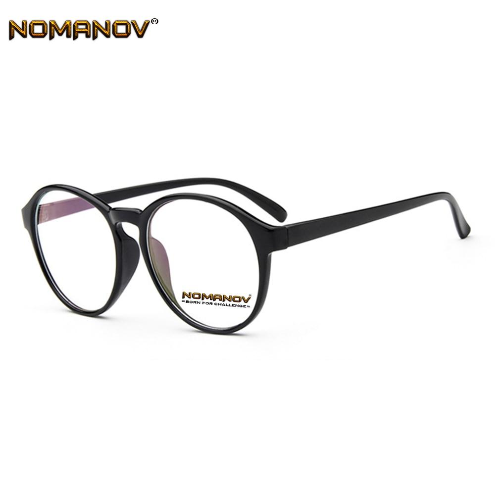 Damenbrillen Korrektionsbrillen Diszipliniert Mode Persönlichkeit Runde Rahmen Klassische Trend Brillen Mit Optischen Linsen Oder Photochrome Grau/braun Linsen Einfach Zu Verwenden