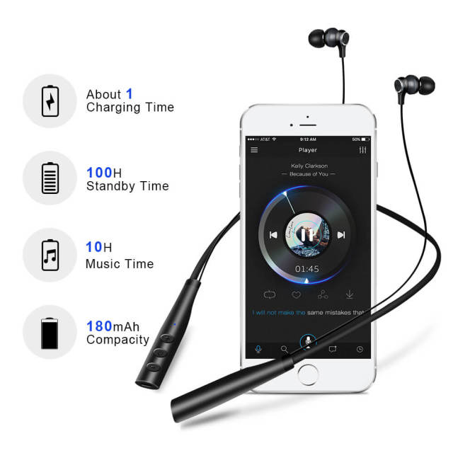 MP3 Music Player Wireless Earphones 4