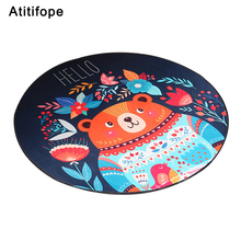 цены Baby Play Mat Kids Play Game Mats Round Carpet Rugs Mat Cotton Crawling Blanket Floor Carpet Baby Play Blanket