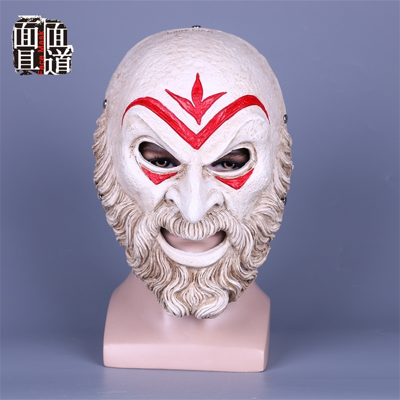 Assassin Odyssey Villain Master Mask Mask Creed Halloween