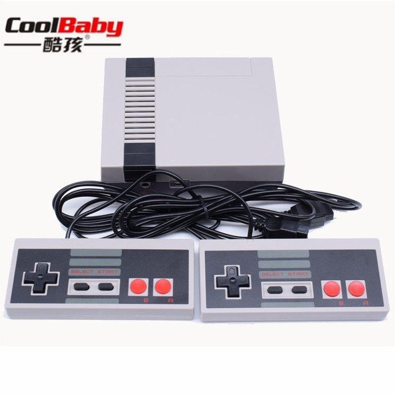 DHL SHIPPING 5pcs/lot av Output Retro Classic handheld game player Family TV video game console Childhood  Built-in 620 Games