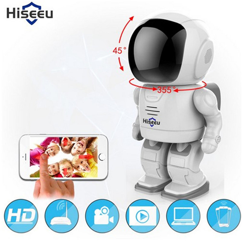 Hiseeu Robot Camera Wifi 960P 1.3MP HD Wireless IP Camera Wi-fi Night Vision Camera IP Network Camera CCTV Support Two-Way Audio james r hedges iv hedges on hedge funds how to successfully analyze and select an investment