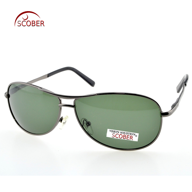 c08c24c11a SCOBER   Big frame double beam MJ Driver s men women polarized sunglasses  Custom Made NEARSIGHTED