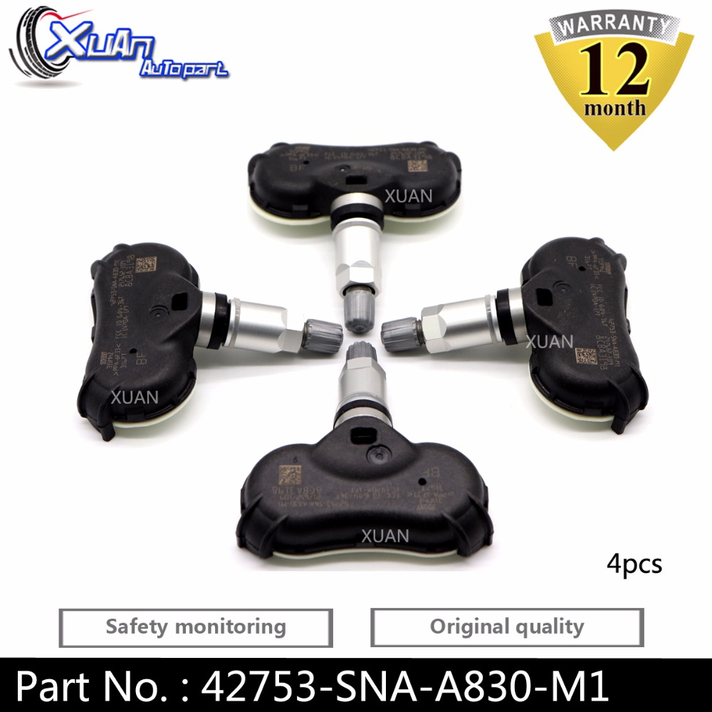1 X Tire Pressure Monitor Sensor TPMS Fit for  Honda Odyssey 42753-SNA-A830-M1