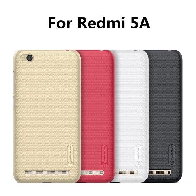 Nillkin funda de teléfono para Xiaomi Redmi 5A funda trasera dura para teléfono móvil parachoques trasero mate fundas de teléfono de plástico Multi- colores