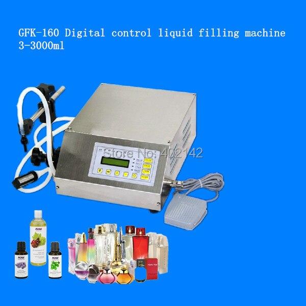 Free shipping by DHL/Fedex,100% Warranty Digital Control pump liquid Filling Machine for water,oil,juice,milk,drink(3-3000ml)