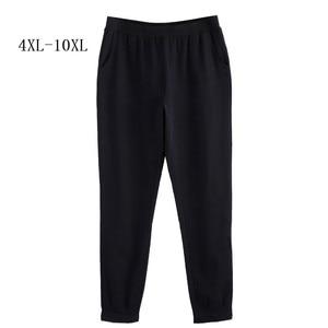 Image 1 - Для женщин брюки для девочек осень 2018 г. плюс размеры 10XL 8XL 6XL 4XL,Российские размеры 66, 62, 58, 54 среднего возраста женская одежда Высокая талия тонкий карандаш черны
