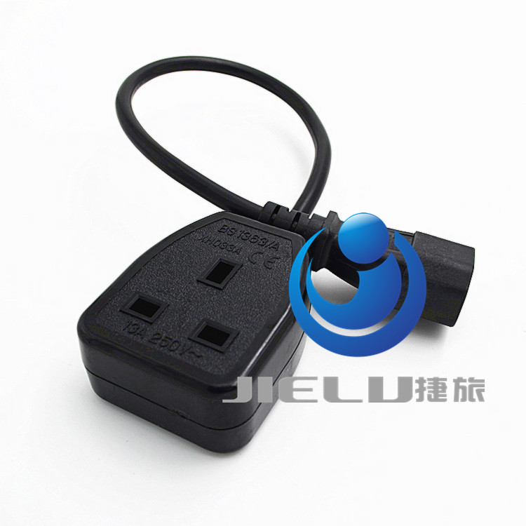 30cm,10 pcs,UK Power Adaptor Cord , IEC C14 Male Plug to UK 3Pin Female Socket Power Adapter Cable For PDU UPS,13A iec 320 c14 3pin male plug to cee 7 7 european schuko socket female adapter cable 50cm euro ups pdu power cord 10 pcs