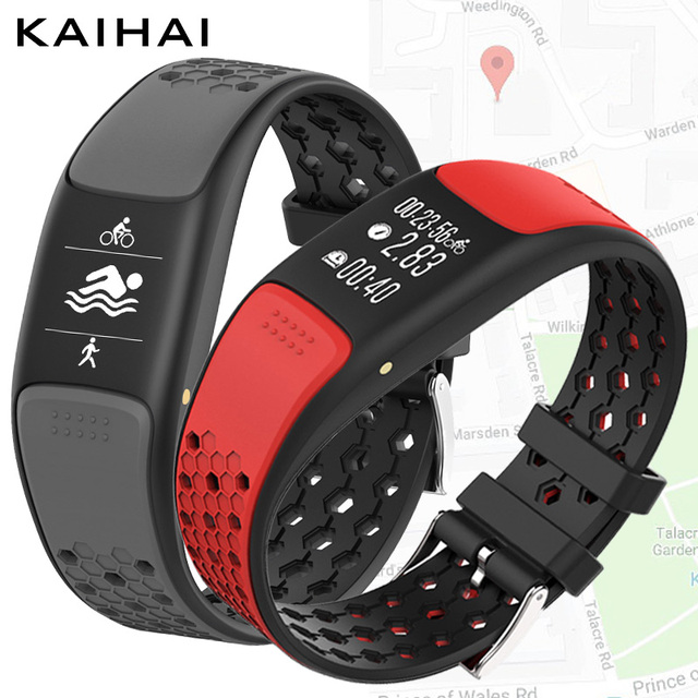 KAIHAI H88 GPS Waterproof ip68 swimming sport smart bracelet watch smartband fitness tracker wristband pulseira inteligente band