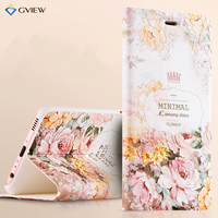 Huawei P10 Case Luxury PU Leather 3D Relief Flip Cover Case For Huawei P10 Plus Stand