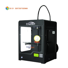 fdm 3d printer machine  DX01 300*250*300mm creatbot 3d printer big size Home House use with heatbed