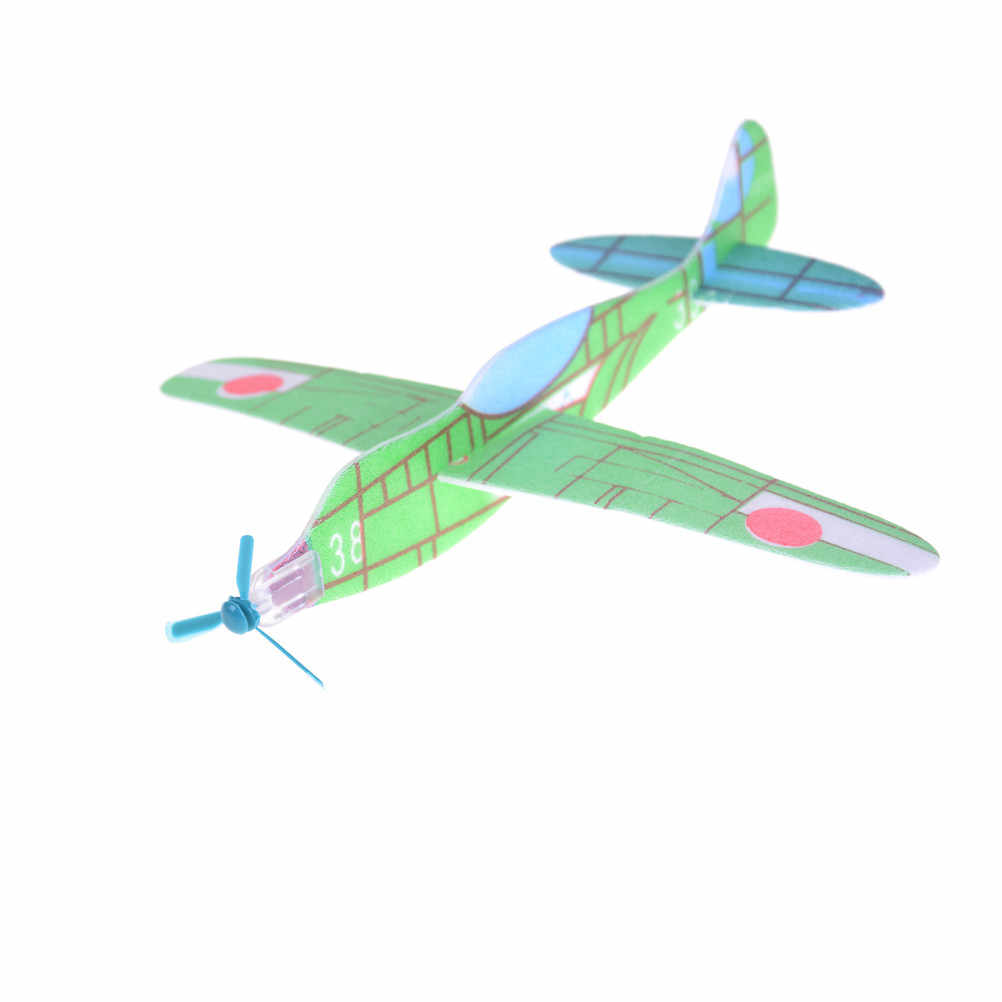 27c4d2e670 3Pcs DIY Assembly Flapping Wing Flight for boy's gift For Children Flying  Kite Paper Airplane Model Imitate Birds Aircraft Toys