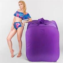 Портативная Паровая сауна паровая баня 4л 2000 Вт сауны сумка