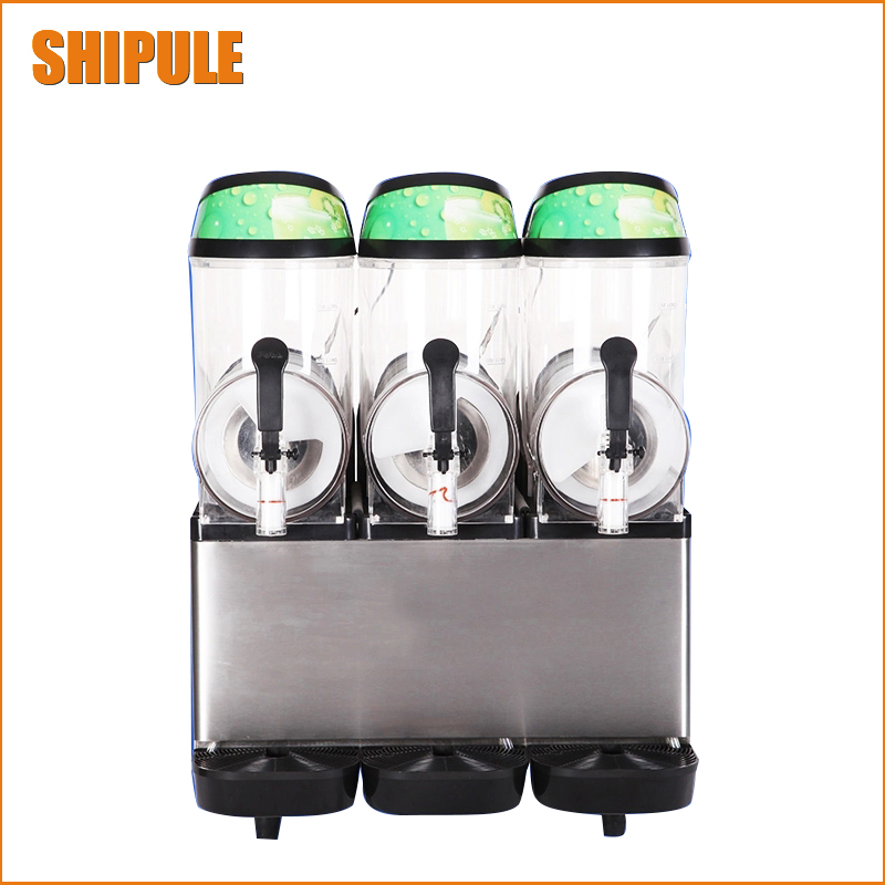 Free Shipping CE approved Black body Slush Machine Granita Machine slush granita machine smoothies machine