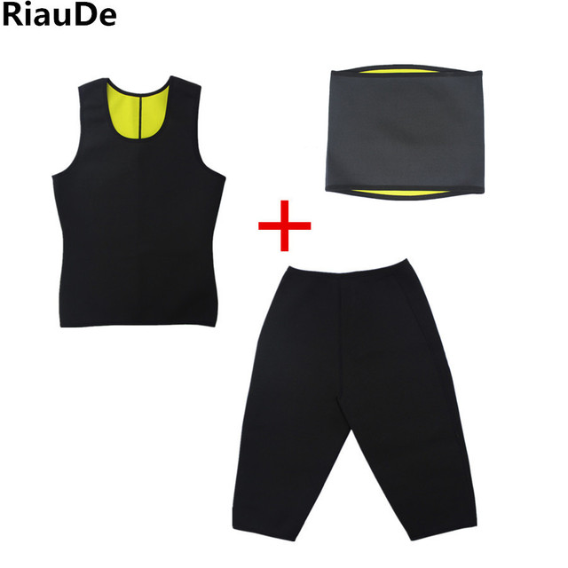 Men's Neoprene Belt Body Shapers Vest Sauna Sweat Slimming Pants Weight Loss Shaper Belt Vest Panties Suit Waist Trainer Corset