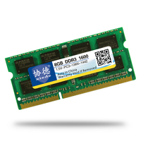 High Quality Xiede Laptop Memory Ram DDR3 1333MHz 1600Mhz 8GB 4GB 2GB For Notebook Sodimm Memoria
