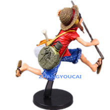 Anime One Piece Monkey D Luffy PVC Action Figure Collectible Model Toy 2 Colors 18cm RETAIL BOX  zy021