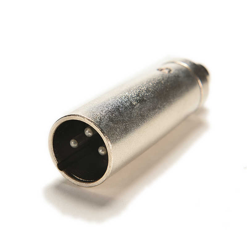 3 دبوس XLR التوصيل ذكر إلى RCA أنثى الصوت مهايئ الرافعة موصل تطبيقها على مكبر للصوت الميكروفون