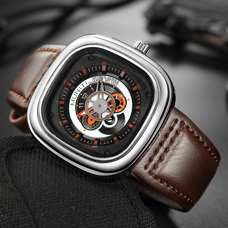 AAA Relogio Masculino Quartz Watch Men 2019 Top Brand Luxury Leather Mens Watches Fashion Casual Sport Clock Men Wristwatches|Quartz Watches| |  - title=