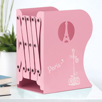 Folding Telescopic Book Student Metal Hollow Book File Large Simple Non printing Book Stand