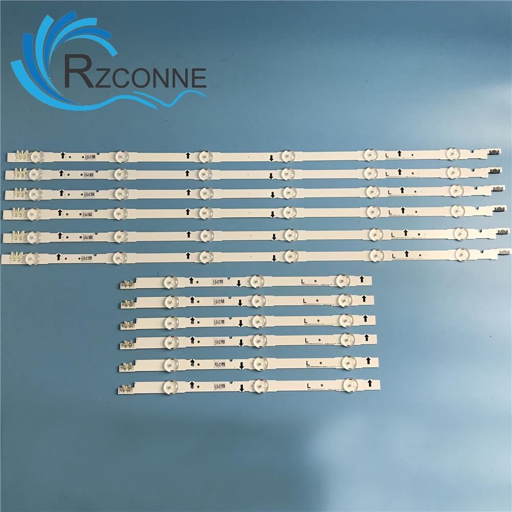 LED Backlight strip 9 lamp For SAMSUNG 2014SVS48F UA48J5088AC UE48H6400 BN96 30453A D4GE 480DCA R3 D4GE