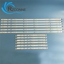 LED Backlight Strip 9 สำหรับSAMSUNG 2014SVS48F UA48J5088AC UE48H6400 BN96 30453A D4GE 480DCA R3 D4GE 480DCB R3 Ue48h6500