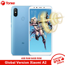 "Global Version Xiaomi Mi A2 4GB RAM 64GB ROM Mobile Phone Dual 20.0MP Snapdragon 660 Octa Core 3010mAh 5.99"" Full Screen"
