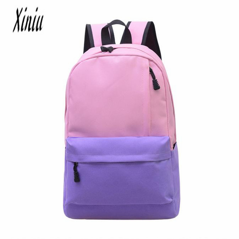 Unisex Vintage Canvas Backpack Female Rucksack School Satchel Travel Softback Fashion Bookbag Student Women's Backpack Hot Sale