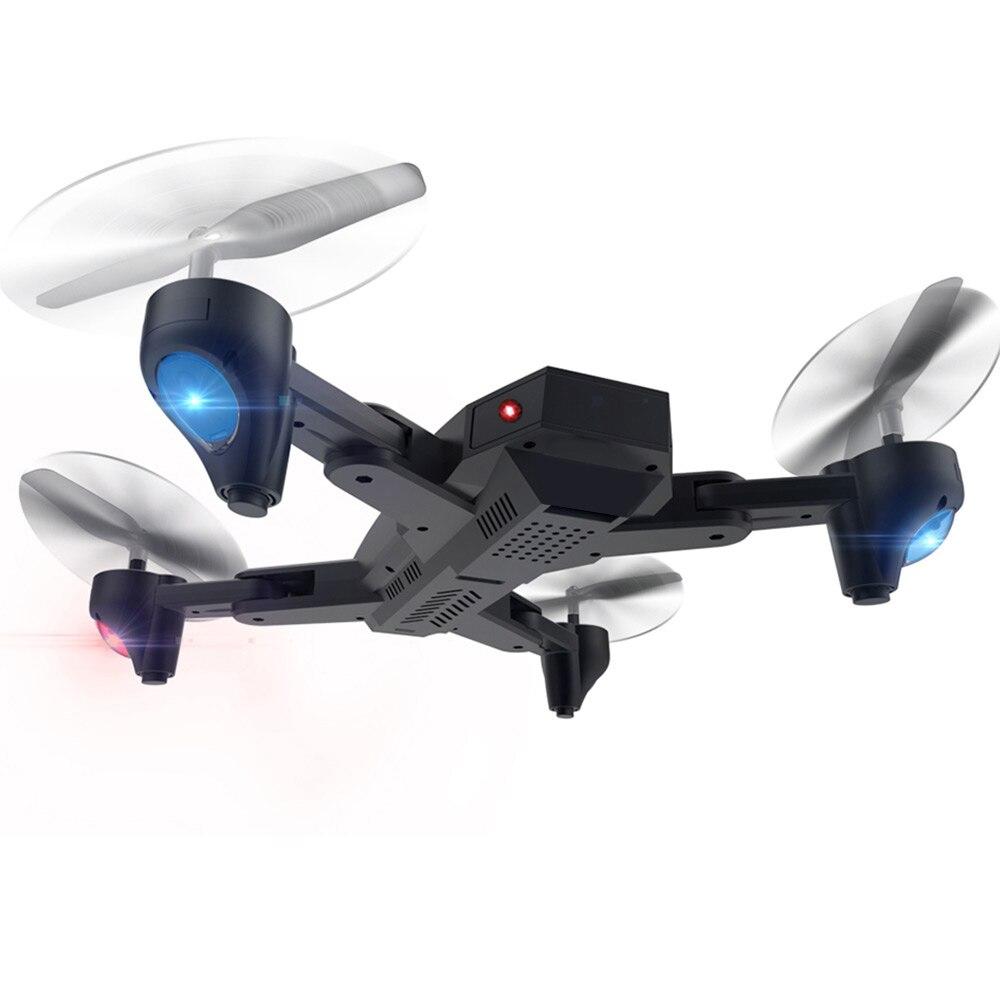 Lensoul haute pliable 2.4 GHz Drone aéronef sans pilote (UAV) 360 degrés LED roulant éclairage avion Durable Intelligent quadrirotor vitesse réglable