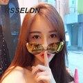 RSSELDN СТАРИННЫЕ Высокого класса Cat Глаз Солнцезащитные Очки Модный Металл Череп Украшения Конструкция Рамы Классический Бренд женская Солнце очки