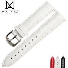 Ремешок для часов maikes из лакированной натуральной кожи браслет