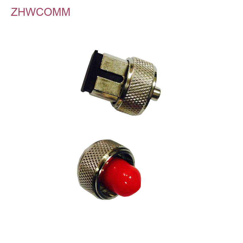 ZHWCOMM 2pcs/lot OTDR FC SC Fiber Optic Connector For Optical Time Domain Reflectometer Fiber Adapter Free Shipping