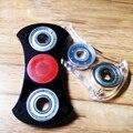 Novo Tri-Fidget Spinner Spinner Para O Autismo e Crianças COM TDAH/Adulto Brinquedo Plástico EDC Sensorial Engraçado Anti Stress brinquedos Como Fidget Filhote