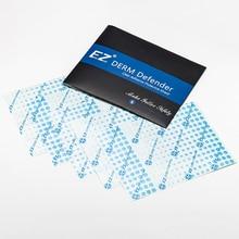 EZ פרימיום Derm Defender קעקוע דבק ברור מגן מגן נייד חבילה 5 גיליונות מגן קעקוע סרט טיפול עוקב