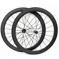 Fahrrad carbon räder AC3 bremse rennrad rad carbon räder R36 keramik hubs 700c 60mm klammer tubular 25mm road laufradsatz|Fahrrad-Rad|   -