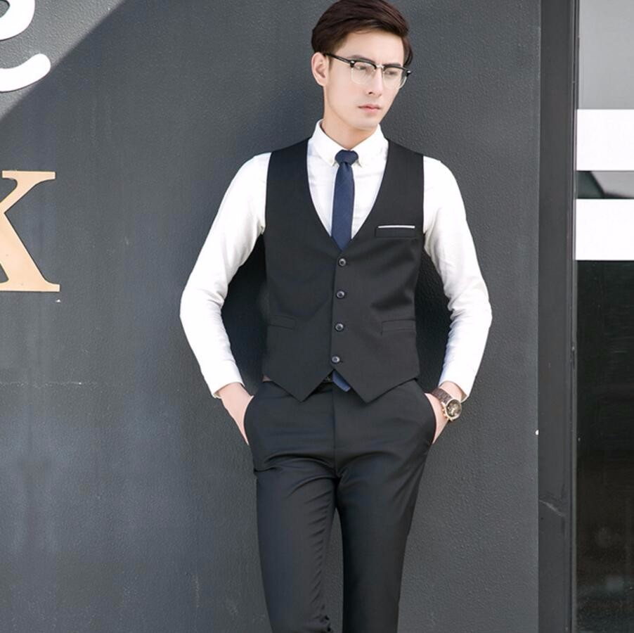 11.1 fashion style men suit vest high quality custom formal occasion friend party birthday party formal dinner dress waistcoat