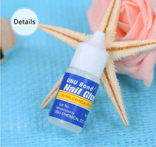 3g Nail Glue Use for  Acrylic Rhinestones Decoration Nail Stickers False Nail Tips UV Glue High Quality Nail Dryer for Manicure