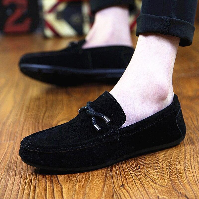 PADEGAO Shoes Loafers Slip On Classics Fashion Casual Summer Leisure Flat Men Soft