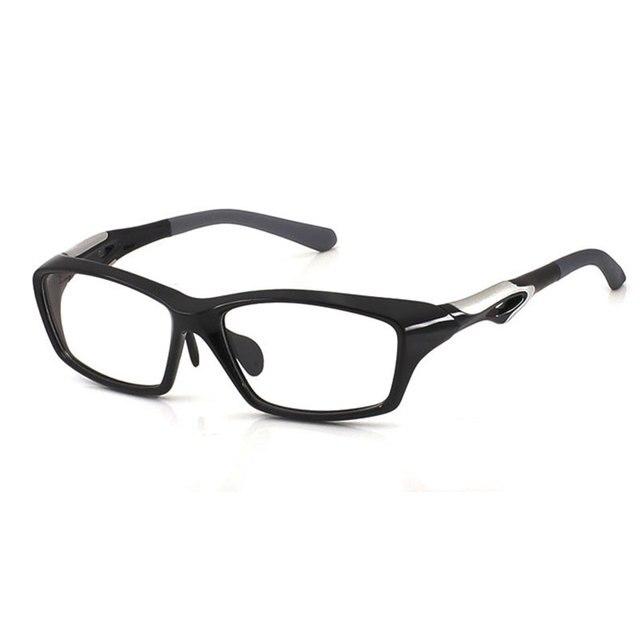 Hotochki TR90 משקפיים מסגרת גברים מלא מסגרות אופנה משקפי ספורט קוצר ראייה משקפיים קל במיוחד אנטי שקופיות עיצוב
