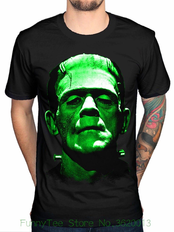 Official Plan 9 Frankentein New Unisex Graphic T-shirt Merchandise Mens Black