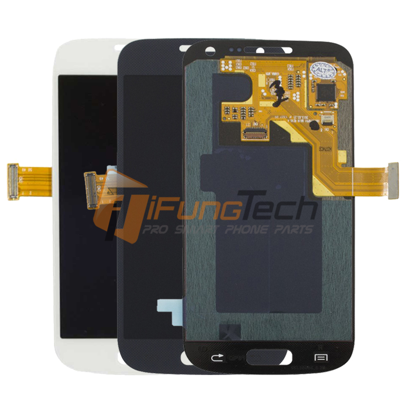 5 PCS For Samsung Galaxy S4 Mini I9190 i9192 i9195 LCD Display Touch Screen Digitizer Replacement with Frame
