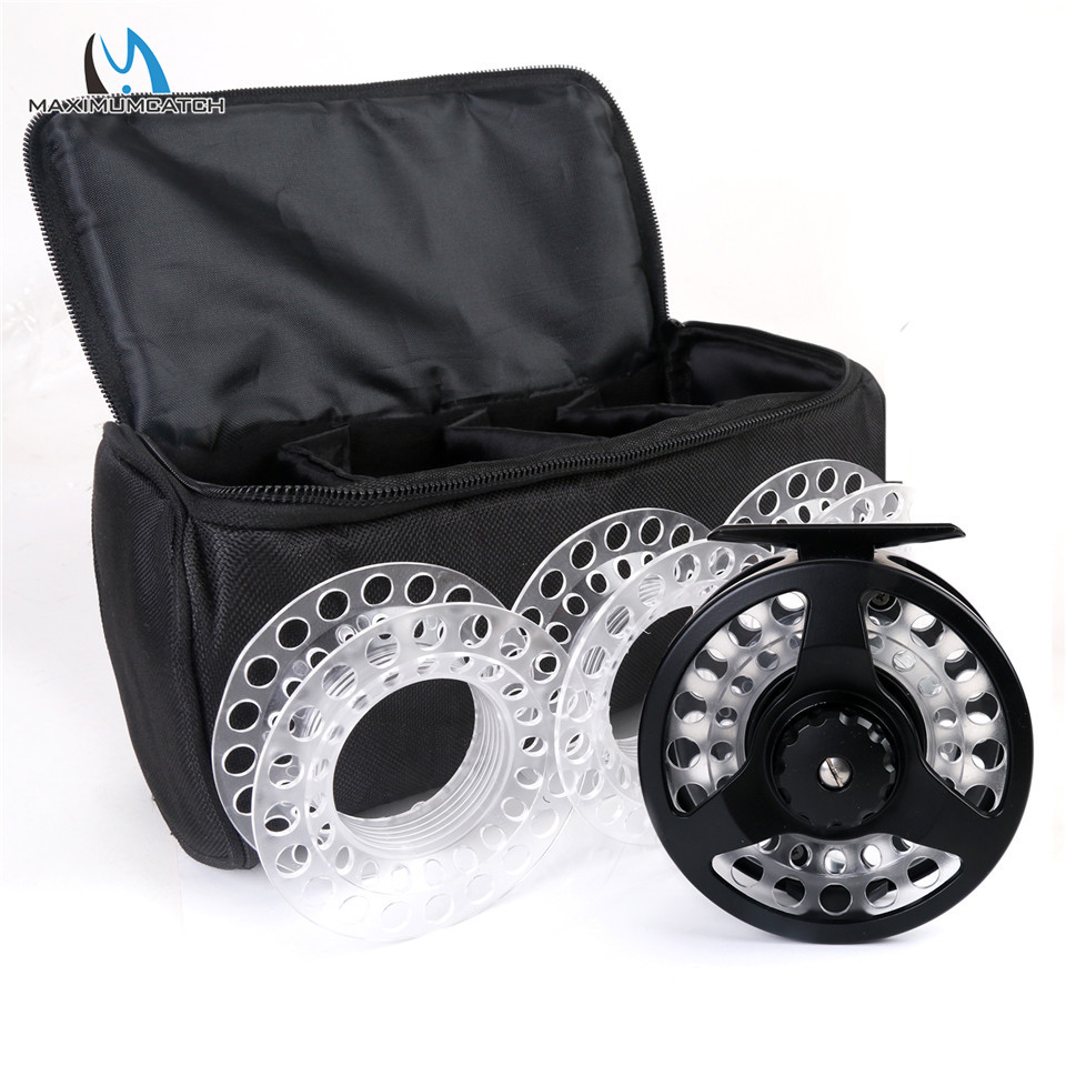 Maximumcatch Fly Reel Combo Cassette Fly Fishing Reel With 3 Extra Cassette Spools