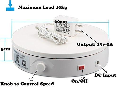 MT200KL10F 360 producto fotografía giratoria eléctrica/360/joyería Videos/Exhibición del producto con carga pesada
