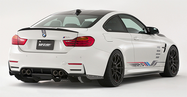 Fit For Bmw M4 F82 M Performance Carbon Fiber Rear Spoiler Rear Wing